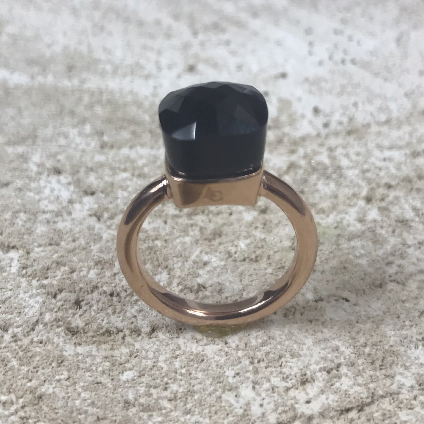Miracles by Annelien Coorevits - Ring Livorno Rosegold Black