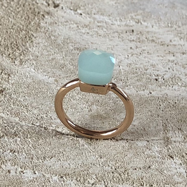 Miracles by Annelien Coorevits - Ring Forli Rosegold Opal Mint - Luxedy