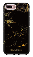 Bay & Bloom iPhone cover - Black Marble (iPhone 6, 6 plus, 7 & 7 plus)