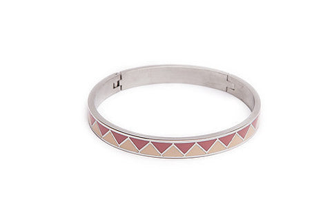 Silis - TheBangle Emaille Silver - Luxedy