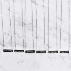 My Jewellery - Ketting Quote - Get Lost - Luxedy