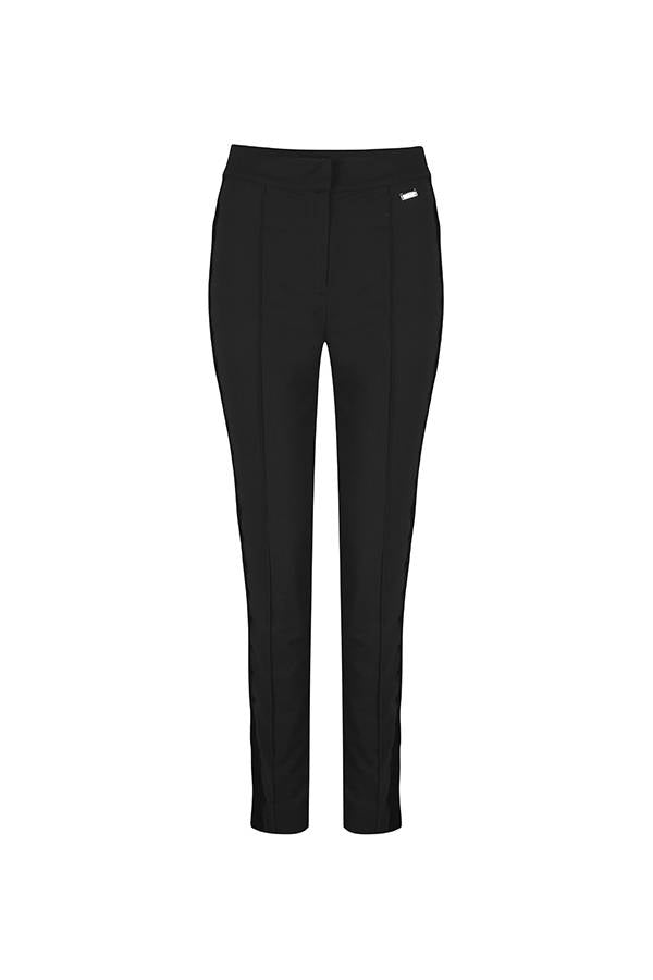 Lofty Manner - Broek Olimpia Zwart - Luxedy