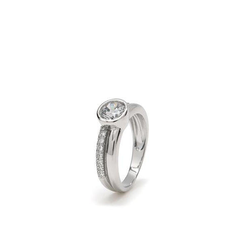 LineArgent - Ring Glam Silver - Luxedy