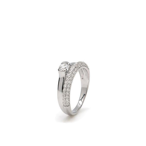LineArgent - Ring Love Silver - Luxedy