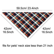Load image into Gallery viewer, Dog Bandanas - Triangle Dog Scarf, Washable Reversible Printing