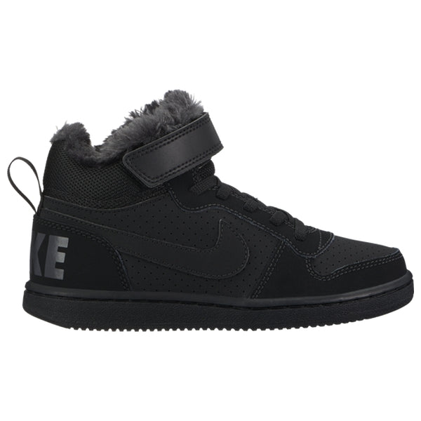 Children's Casual Trainers Nike Court Borough MID WTR PSV Black