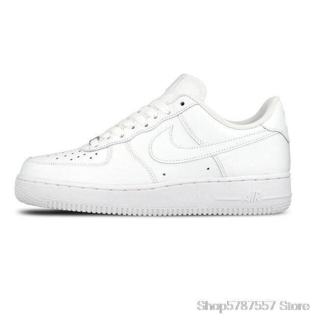 Original Authentic Nike AIR FORCE 1 AF1 Men's Skateboard Shoes Outdoor Fashion Classic Sports Shoes Breathable  315122-111