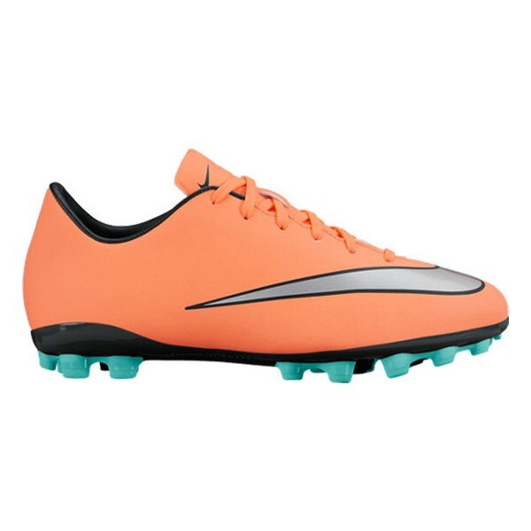 Childrens Football Boots Nike JR Mercurial Victory V AG Orange
