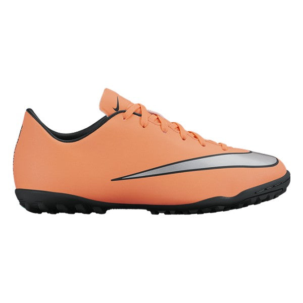 Children's Multi-stud Football Boots Nike JR Mercurial Victory V TF Orange