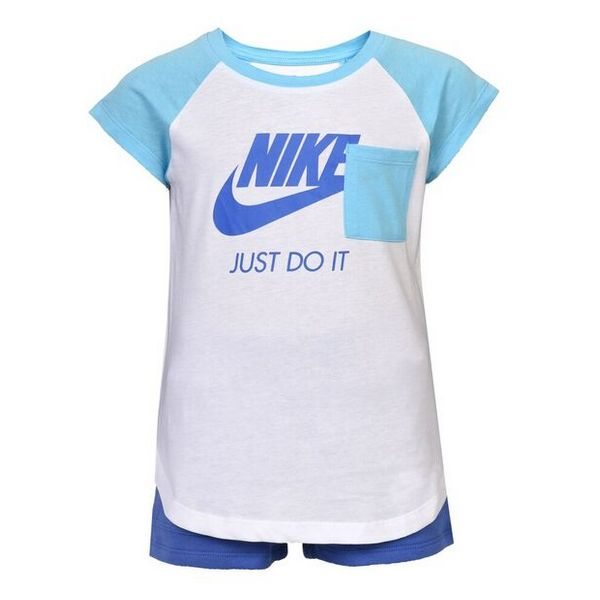 Sports Outfit for Baby Nike 919-B9A Blue White