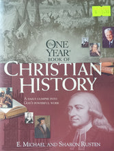 Load image into Gallery viewer, One Year Christian History - Sharon O. Rusten