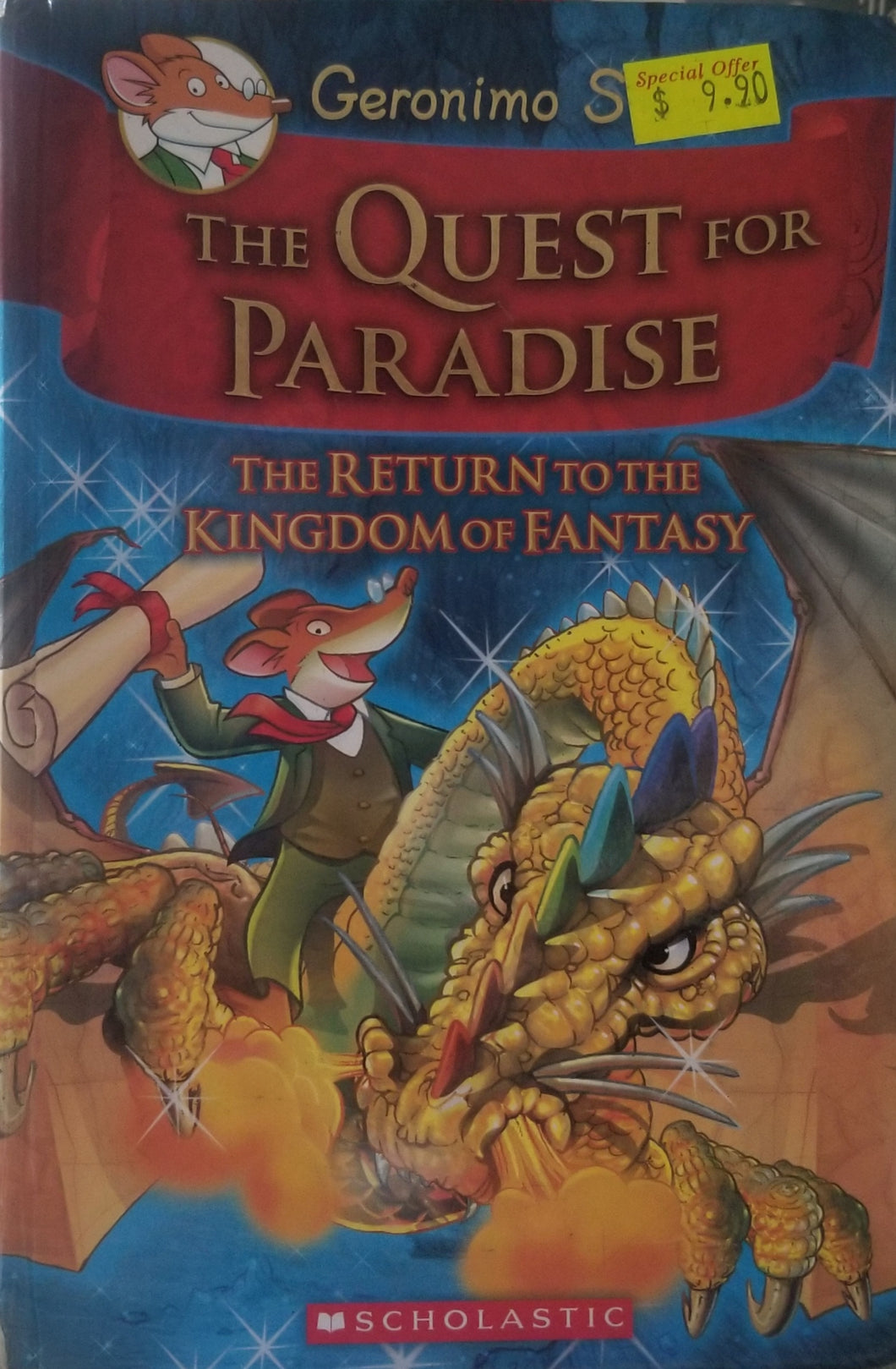 Geronimo Stilton and the Kingdom of Fantasy: (Book2) Quest for Paradise