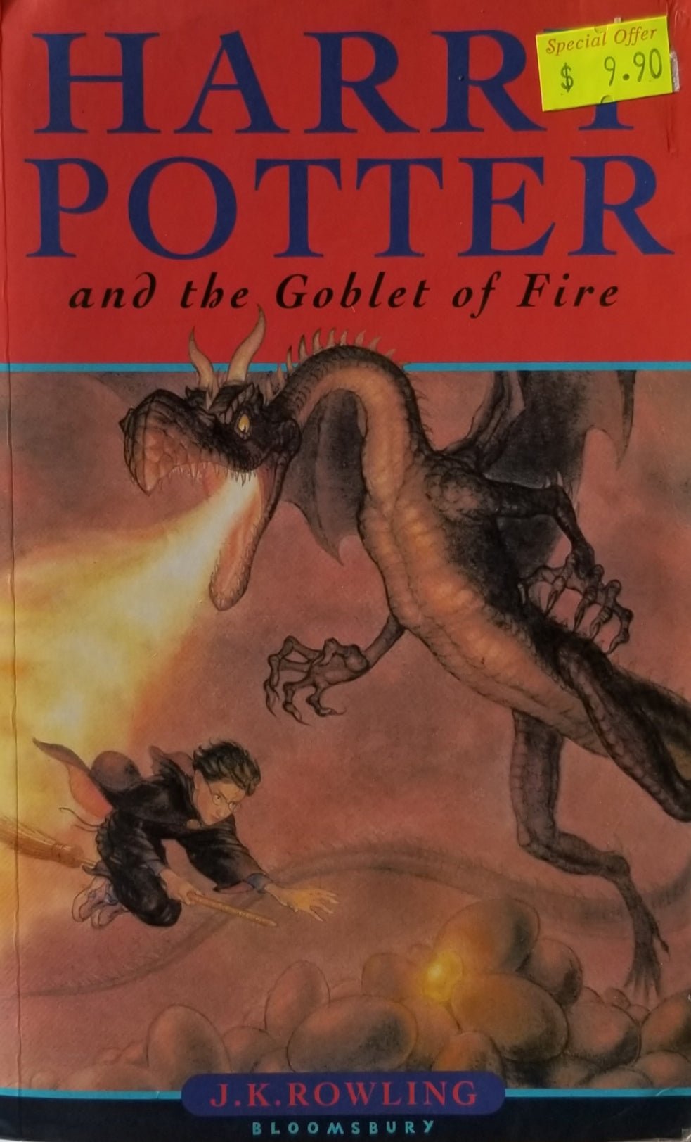 Harry Potter and the Goblet of Fire (Hardcover) - J. K. Rowling
