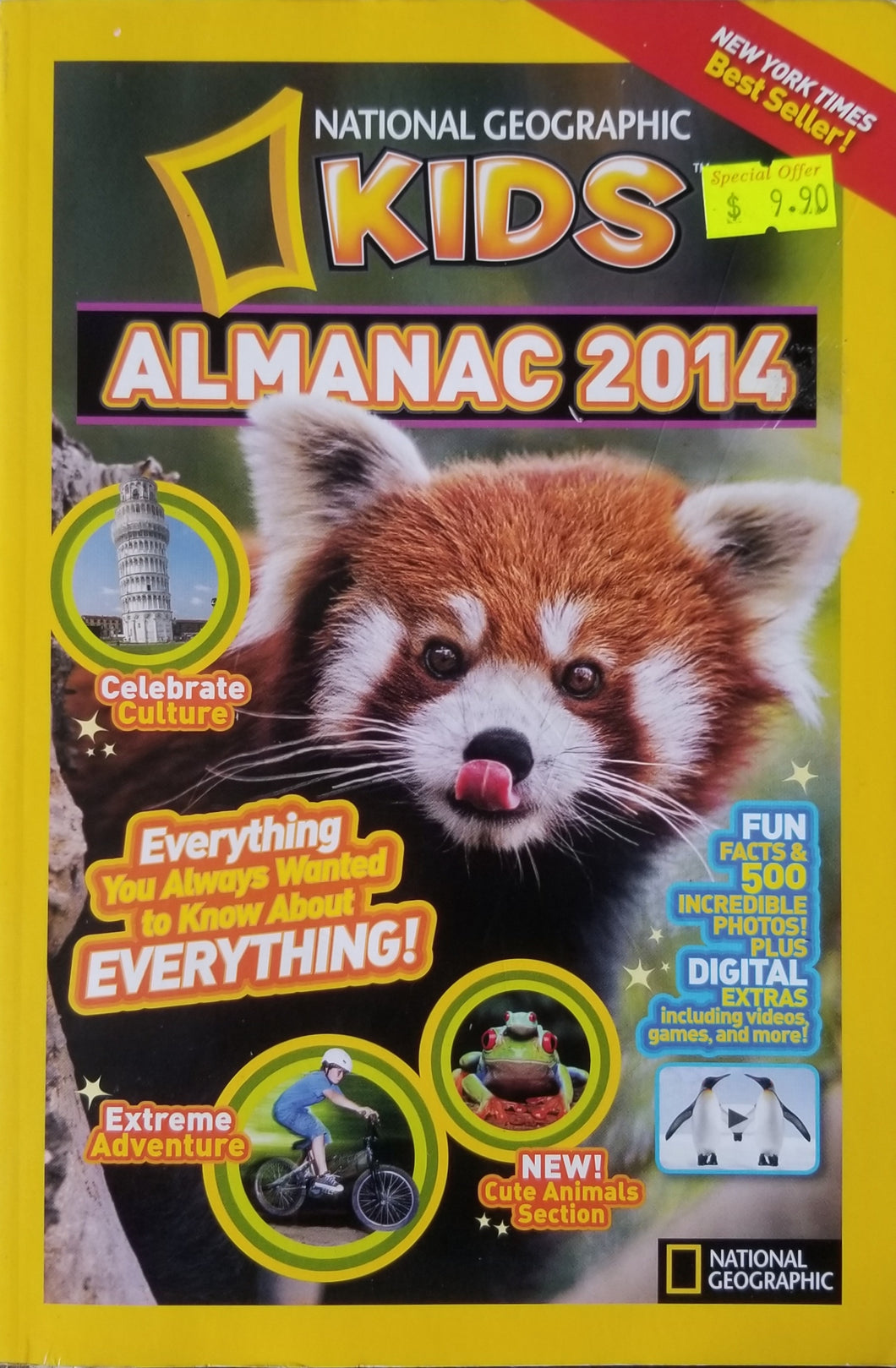 National Geographic Kids Almanac 2014  International Edition - National Geographic