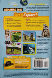 National Geographic Kids Almanac 2017  International Edition - National Geographic