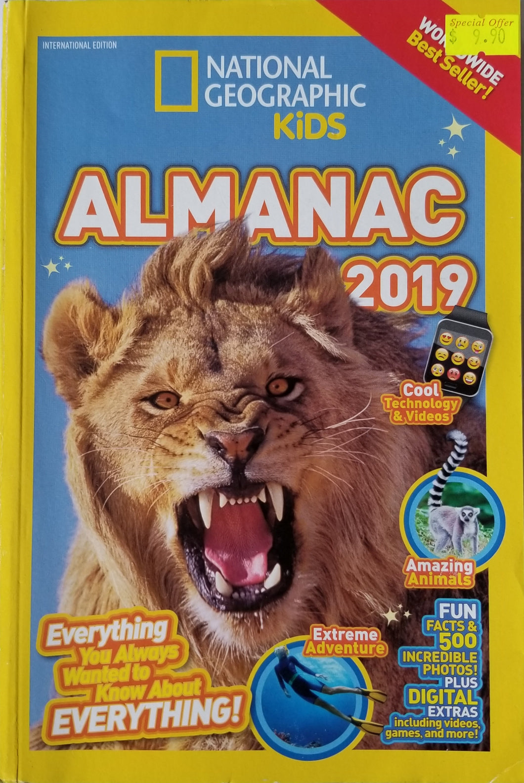 National Geographic Kids Almanac 2019  International Edition - National Geographic