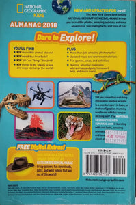 National Geographic Kids Almanac 2018  International Edition - National Geographic