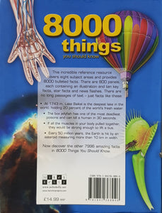 8000 Things You Should Know - Miles Kelly