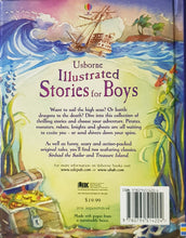 Load image into Gallery viewer, Illustrated Stories for Boys - Usborne
