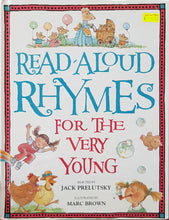 Load image into Gallery viewer, Read-Aloud Rhymes for the Very Young - Jack Prelutsky & Marc Brown