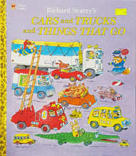 Load image into Gallery viewer, Cars & Trucks & Things That Go - Richard Scarry