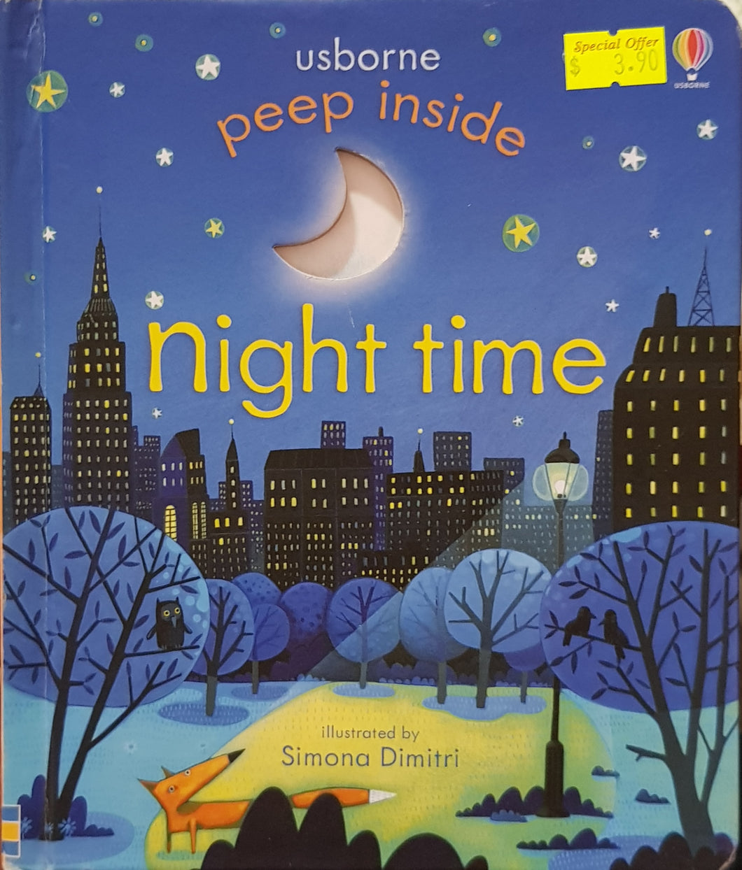 Peep Inside Night Time - Anna Milbourne