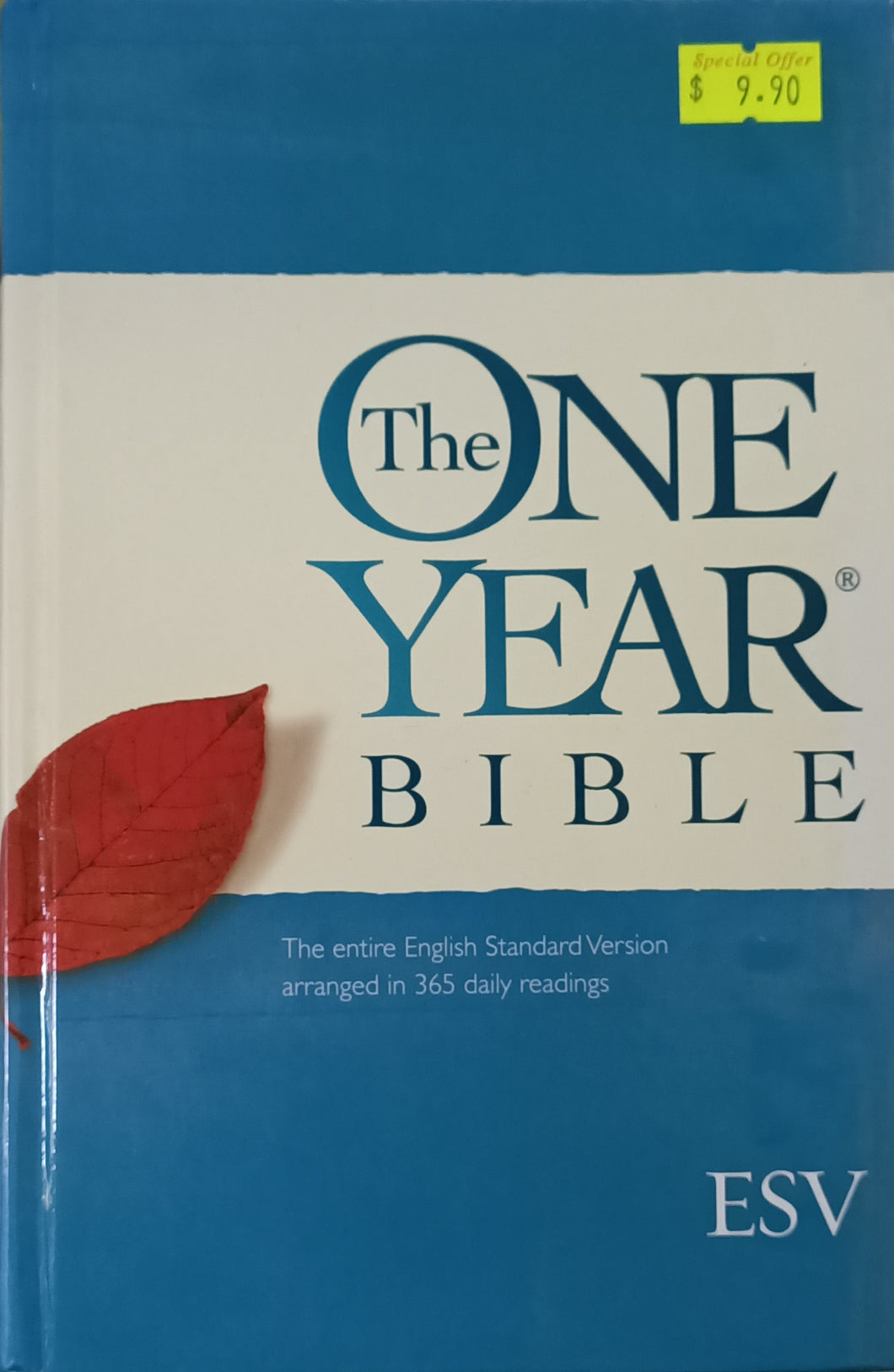 ESV The One Year Bible - Crossway books