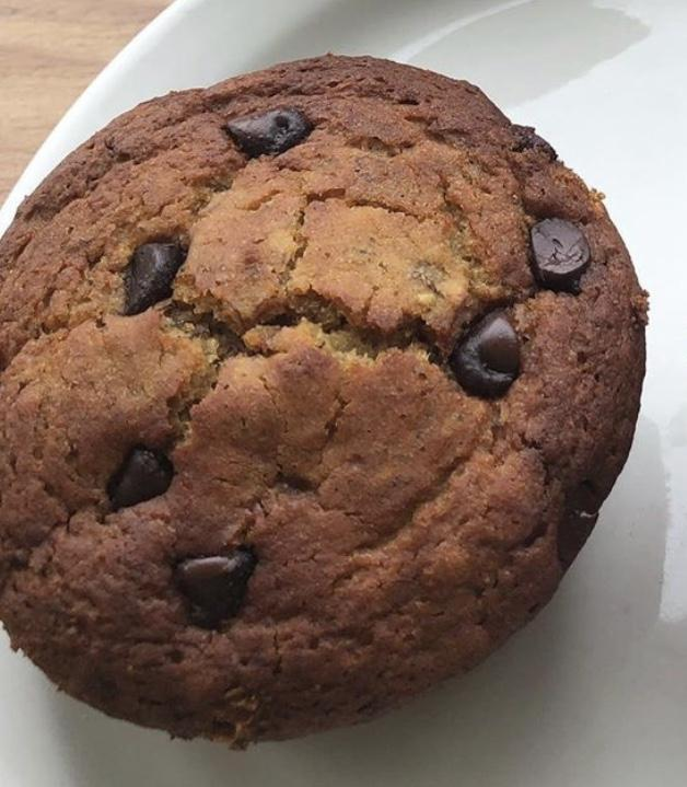 Banana Chocolate Chip Muffin