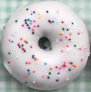 "Load image into Gallery viewer, Vanilla Dip ""Birthday"" Donut"