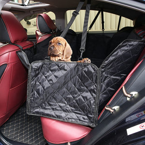 Dog Car Seat Cover with Side Flaps-50% Off Today