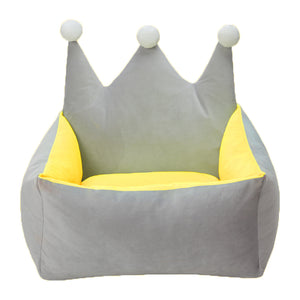 Cute Dog Bed Crown Shape