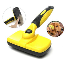 Load image into Gallery viewer, PawBabe Self Cleaning Slicker Dog Brush