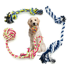 Load image into Gallery viewer, Dog Toys Chew Rope