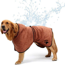 Load image into Gallery viewer, Dog Bathrobe Towel