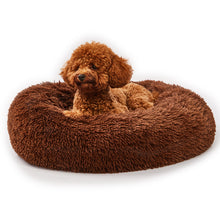 Load image into Gallery viewer, Calming Dog Bed with Removable Cover