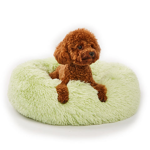 Calming Dog Bed with Removable Cover