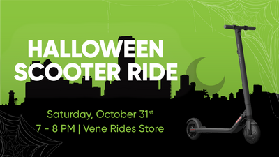 Halloween Scooter Ride