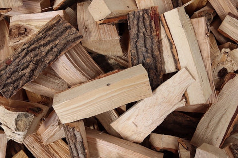 Pile of British kiln-dried logs