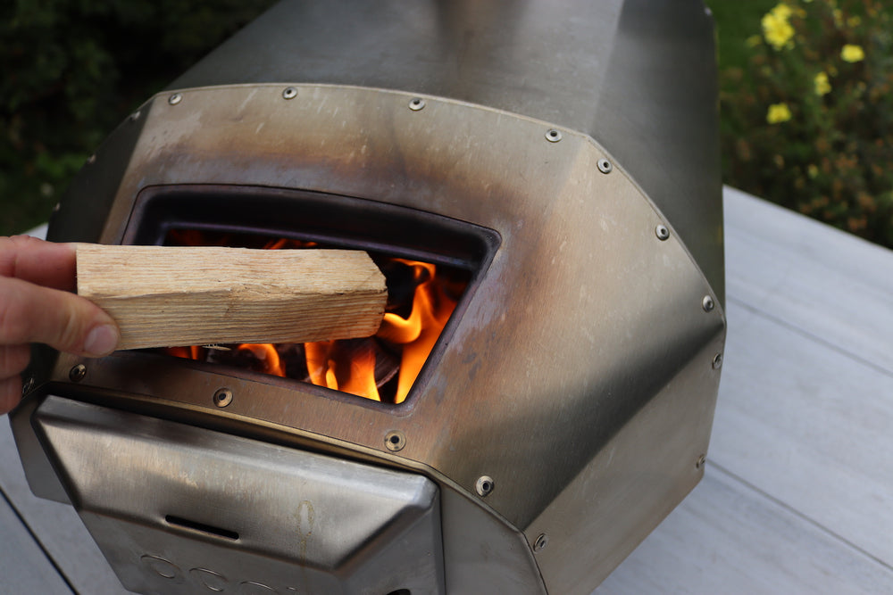 British kiln-dried hardwood, cut perfectly to size to fit Ooni Karu, Gozney Roccbox, Alfresco Chef Ember and other tabletop pizza ovens