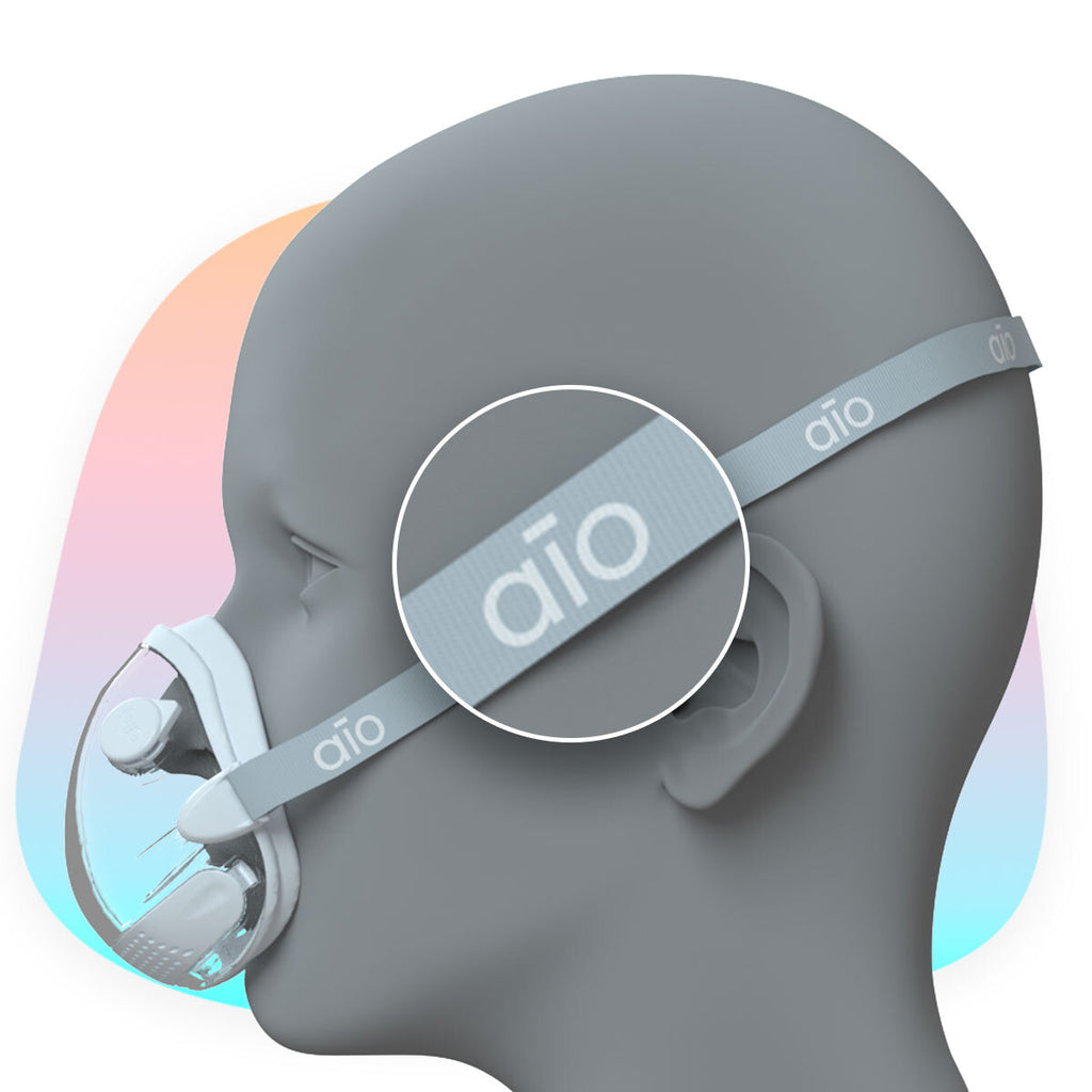 AIO® Headstraps Grey