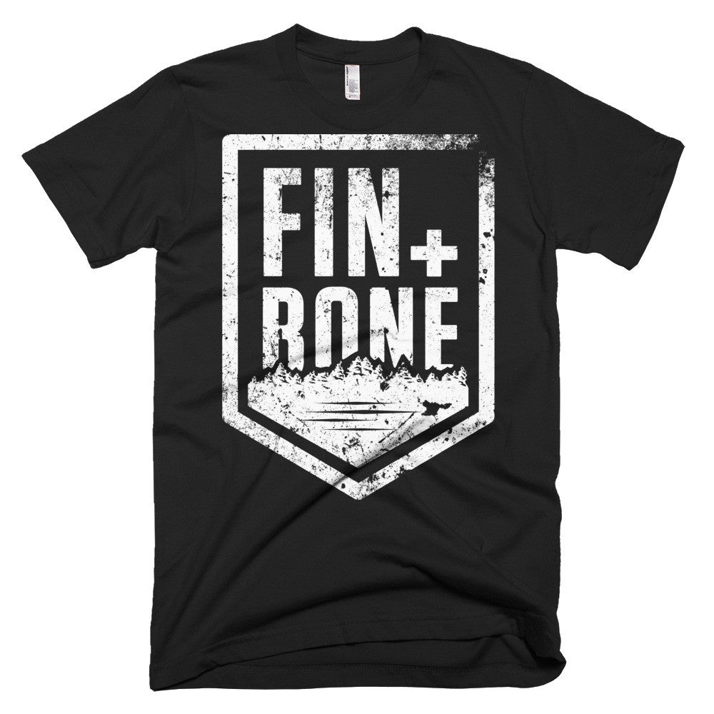Fin + Bone  men's t-shirt