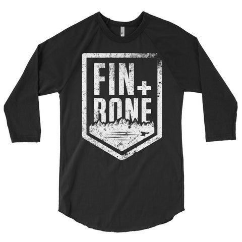 Fin + Bone  raglan shirt