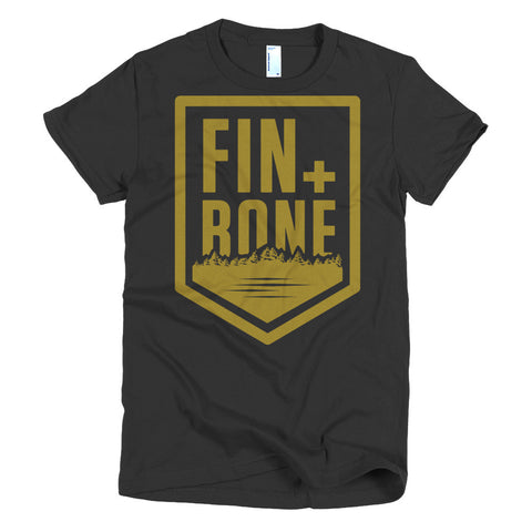 Brass Short sleeve women's t-shirt