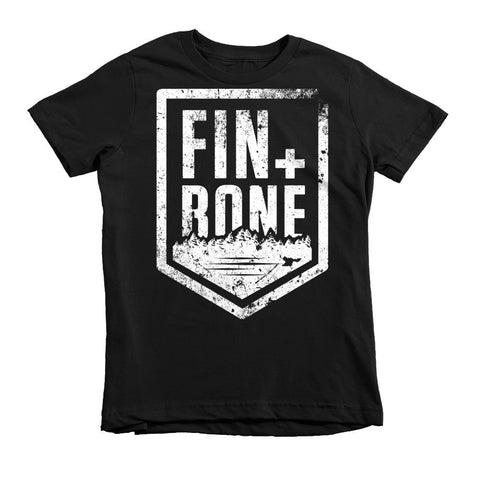 Fin + Bone Short sleeve kids t-shirt
