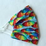 Rainbow Brolly Face Covering