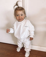 Load image into Gallery viewer, Tiny Trove Woodie Tracksuit - Chalk