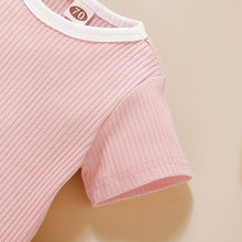 Load image into Gallery viewer, Cali Pink T-shirt and Short Set
