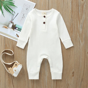 River White Cotton Knitted Jumpsuit