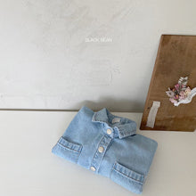 Load image into Gallery viewer, Pocket Denim Romper