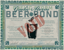 Load image into Gallery viewer, Gaelic Storm Beer Bond